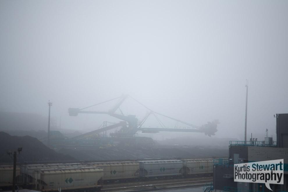 kurtis stewart fog walk industrial crane