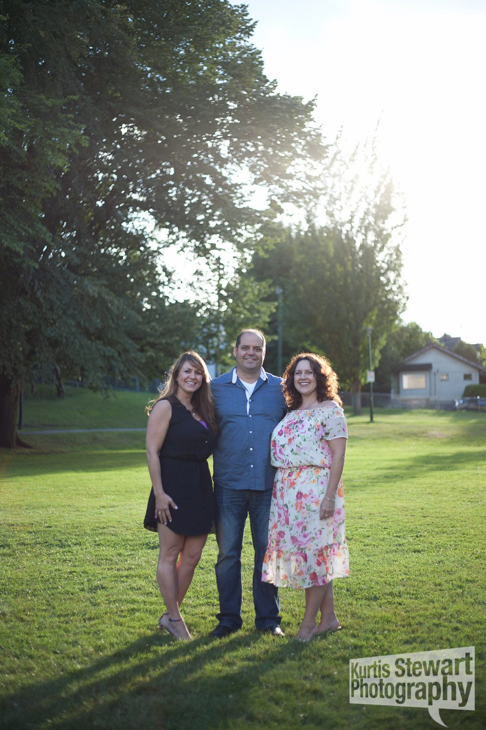 Vancouver family portrait photography session