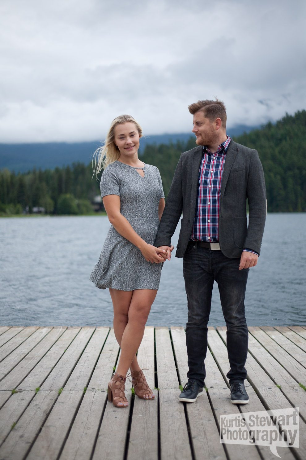 Whistler Engagement Photoshoot by the Lake